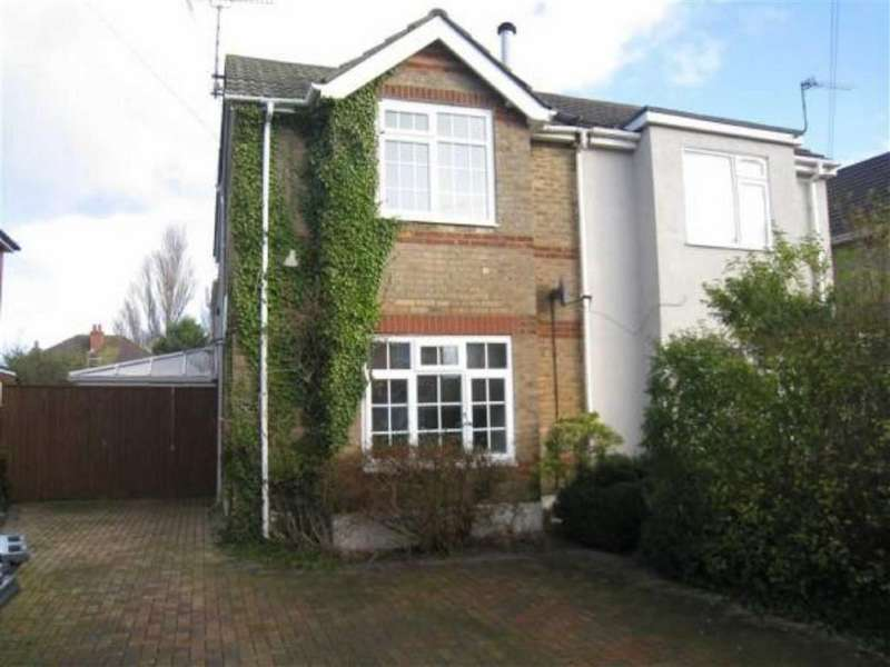 4 Bedrooms Semi Detached House for rent in Brassey Road, Bournemouth, Dorset