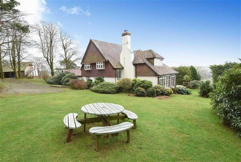 5 Bedrooms Detached House for sale in Stoke Rivers, Barnstaple, Devon, EX32