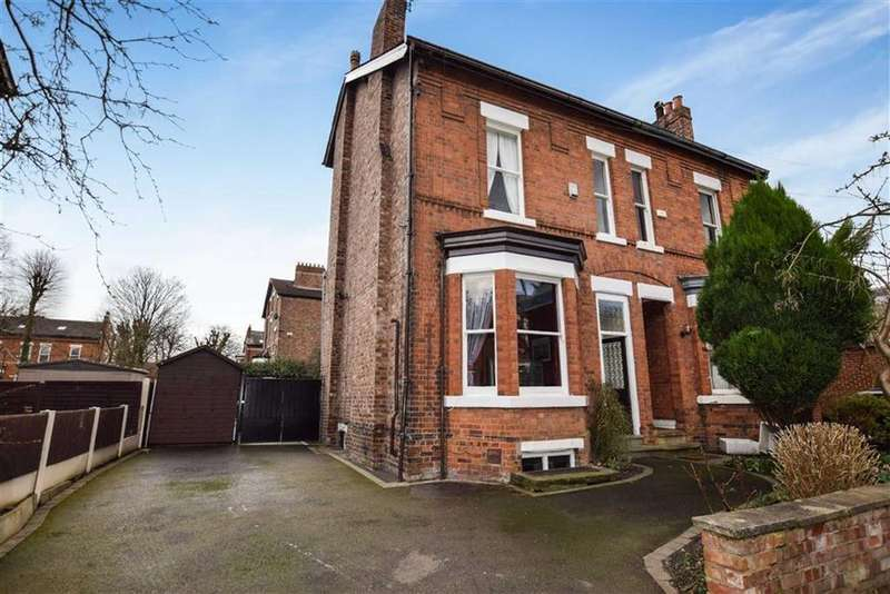 4 Bedrooms Semi Detached House for sale in Baxter Road, Sale, M33
