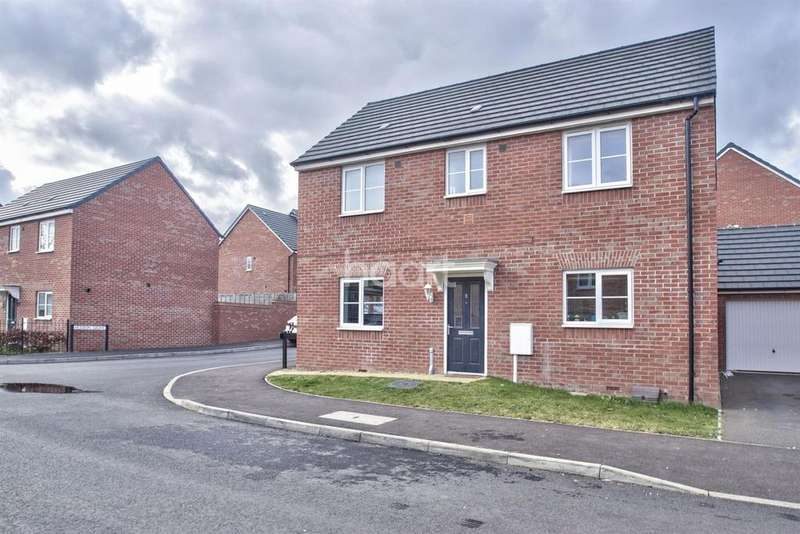 3 Bedrooms Detached House for sale in Tilman Drive, Hempsted, Peterborough