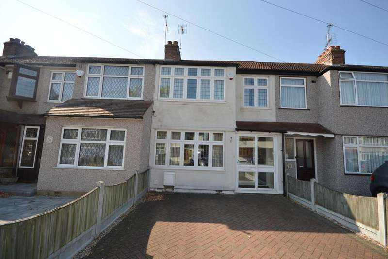 3 Bedrooms Terraced House for sale in Birch Crescent, Hornchurch, Essex, RM11