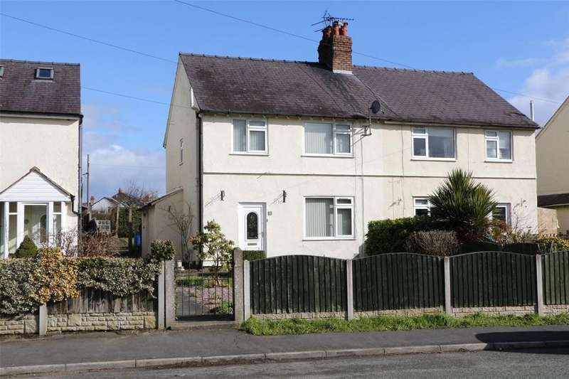 3 Bedrooms Semi Detached House for sale in Wrexham Road, Caergwrle, Wrexham, LL12