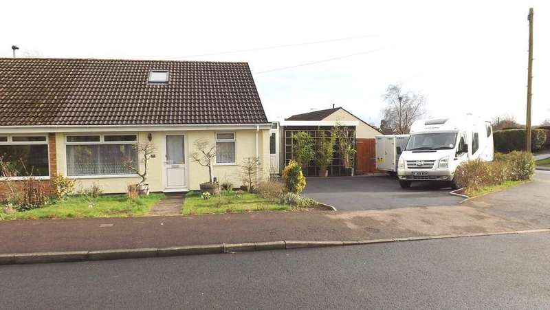2 Bedrooms Semi Detached Bungalow for sale in Wyebank Avenue, Tutshill, Chepstow