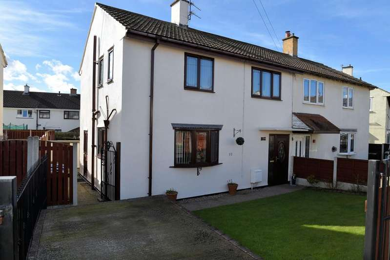 3 Bedrooms Semi Detached House for sale in Broadwater, Bolton-upon-dearne, Rotherham