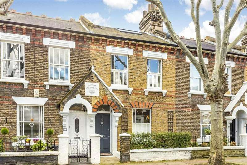 3 Bedrooms Terraced House for sale in Eversleigh Road, London, SW11
