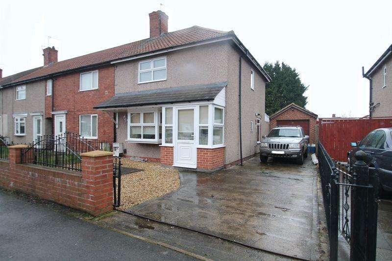 2 Bedrooms Semi Detached House for sale in Cheviot Crescent, Billingham