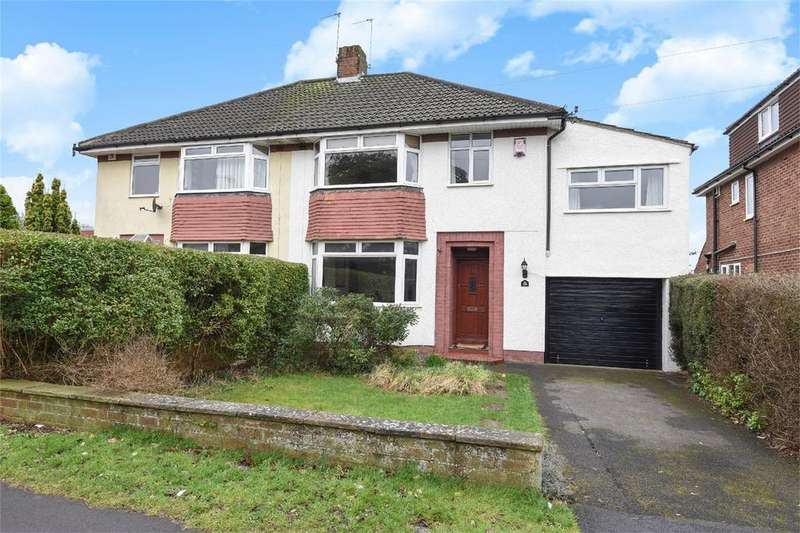 4 Bedrooms Semi Detached House for sale in Eastfield, Westbury-on-Trym, Bristol