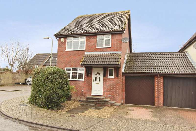 3 Bedrooms Detached House for sale in Repton Gardens, Grange Park SO30