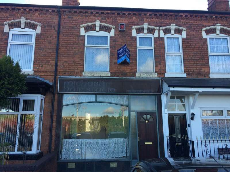 1 Bedroom Terraced House for sale in Church Road, Yardley, Birmingham B25