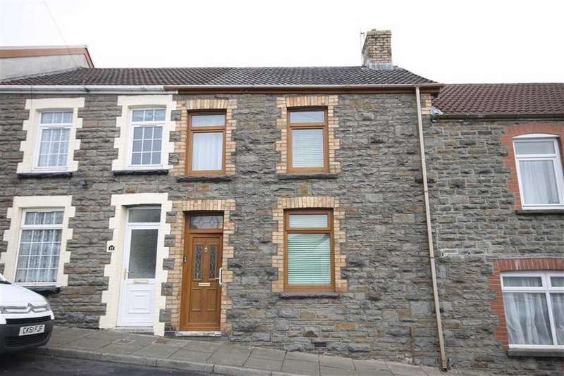 2 Bedrooms Terraced House for sale in Thomas Street, Treharris, CF46