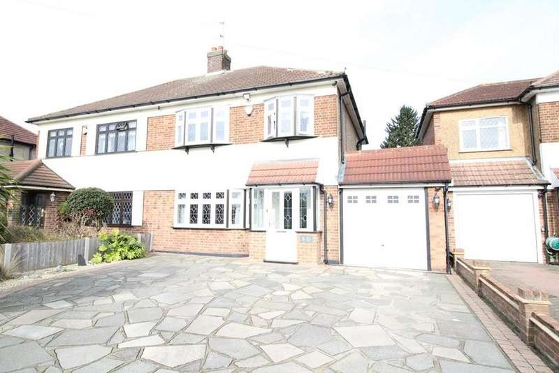 3 Bedrooms Semi Detached House for sale in Little Gaynes Lane, Upminster, Essex, RM14