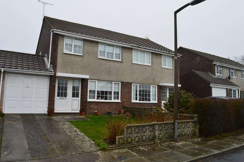 3 Bedrooms Semi Detached House for sale in Eurgan Close, Llantwit Major CF61
