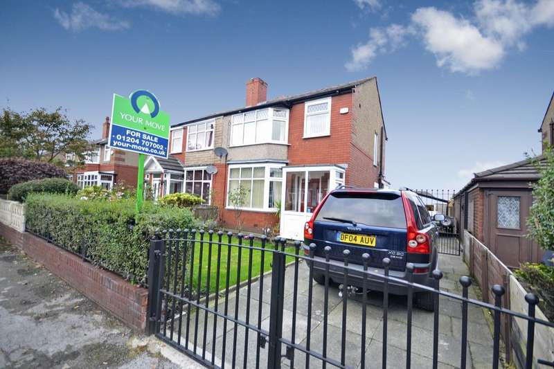 3 Bedrooms Semi Detached House for sale in Kildare Street, Farnworth, Bolton, BL4