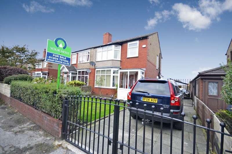 3 Bedrooms Semi Detached House for sale in Kildare Street, Farnworth, Bolton, BL4