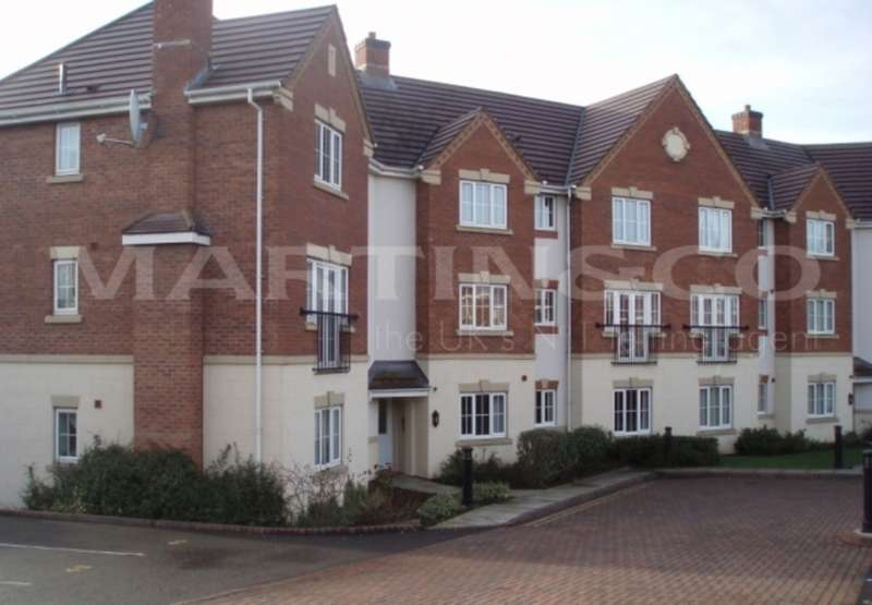 2 Bedrooms Apartment Flat for sale in Finchale Avenue, Priorslee