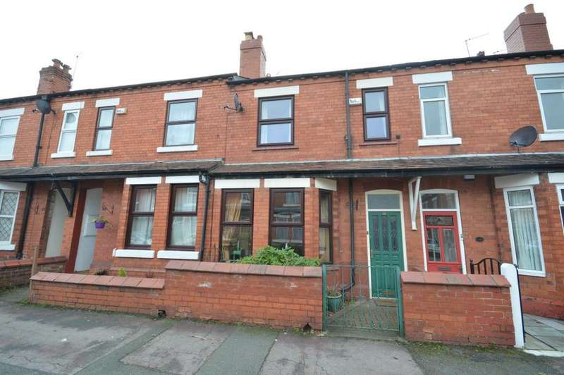3 Bedrooms Terraced House for sale in Warburton Street, Stockton Heath, Warrington