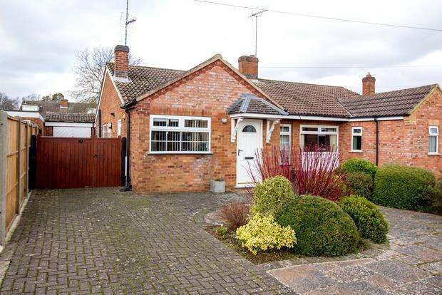 3 Bedrooms Bungalow for sale in Northleigh Grove, Market Harborough, LE16