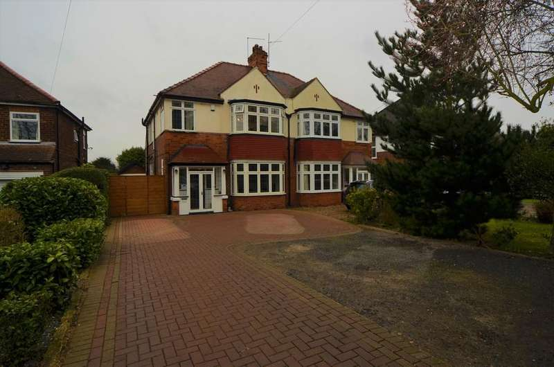 4 Bedrooms Semi Detached House for sale in Beverley Road, Kirk Ella