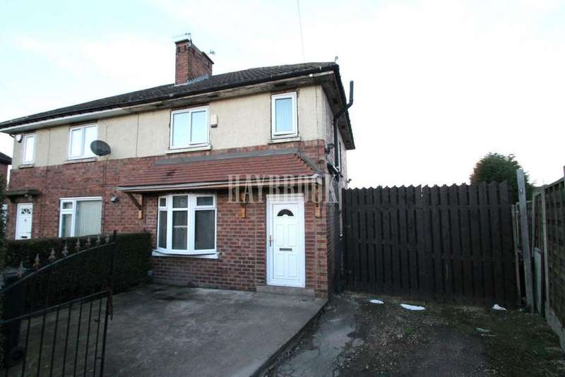 3 Bedrooms Semi Detached House for sale in Campbell Drive, Herringthorpe, Rotherham