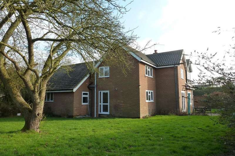 4 Bedrooms Detached House for sale in Bacton, Norwich