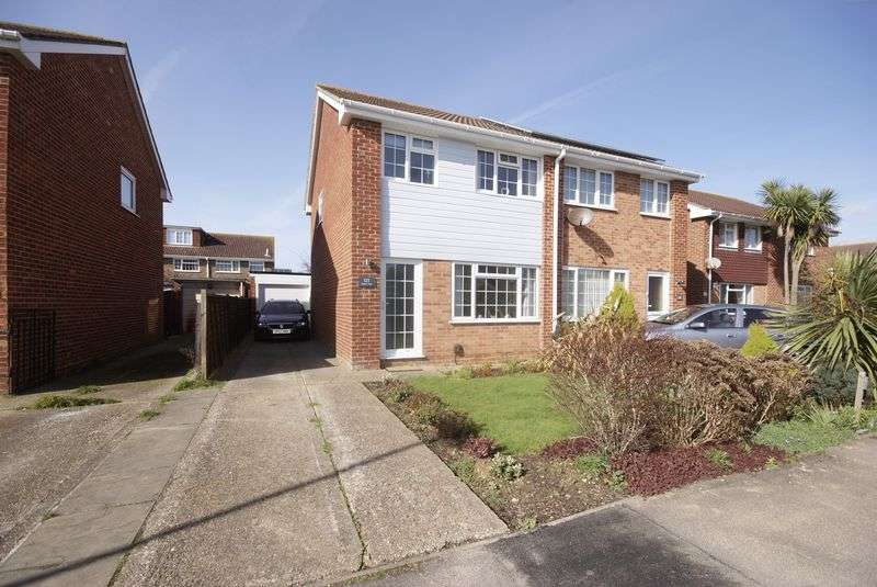 3 Bedrooms Semi Detached House for sale in Skipper Way, Lee-On-The-Solent, PO13