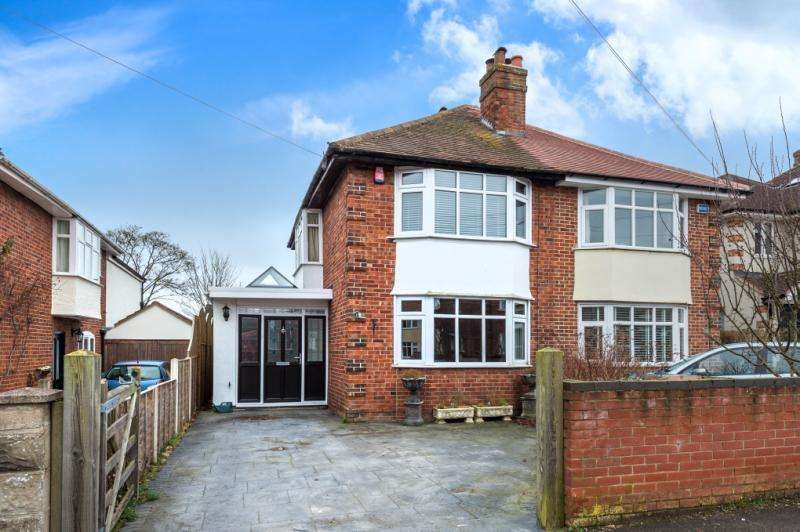 3 Bedrooms Semi Detached House for sale in Delbush Avenue, Headington, Oxford, Oxfordshire