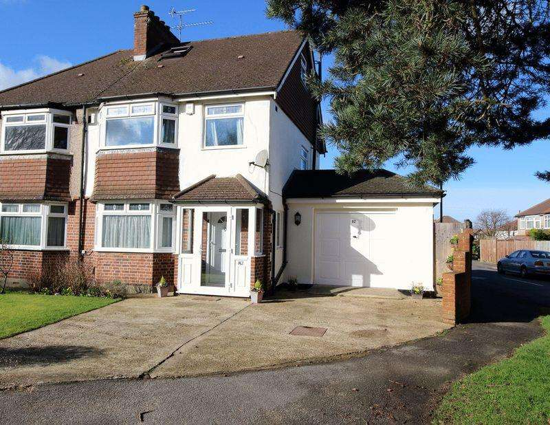3 Bedrooms Semi Detached House for sale in FOXON LANE, CATERHAM ON THE HILL