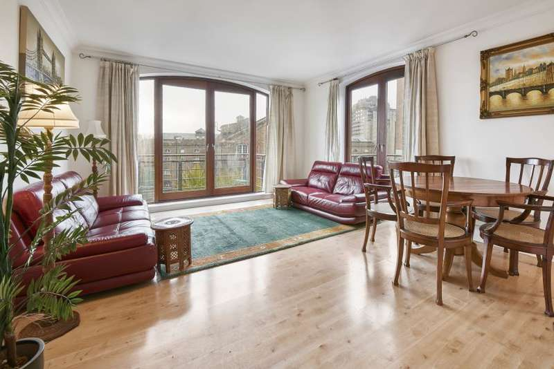 2 Bedrooms Flat for sale in Sanderling Lodge, Star Place, St Katherines Dock, E1W