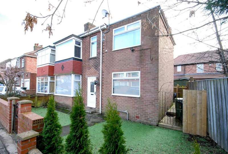 3 Bedrooms Semi Detached House for sale in Maudlin Place, Fenham