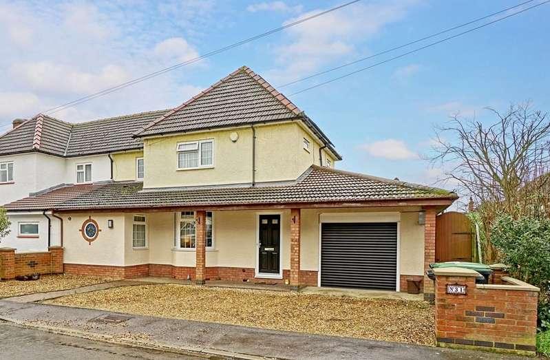 3 Bedrooms Semi Detached House for sale in Oak Crescent, Potton