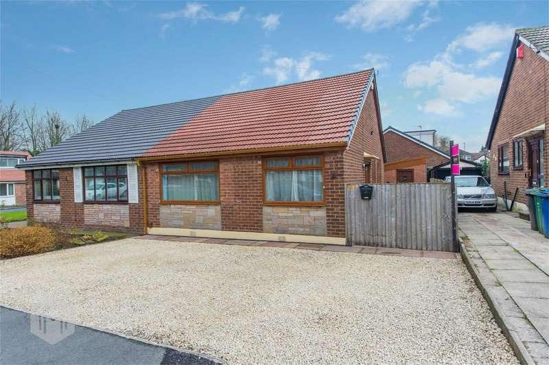 2 Bedrooms Semi Detached Bungalow for sale in Strangford Street, Radcliffe, Manchester, Lancashire