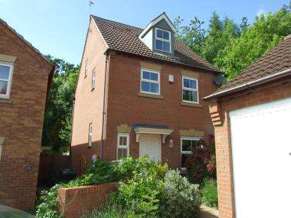 4 Bedrooms Detached House for sale in Colling Close, Loughborough, Leicestershire