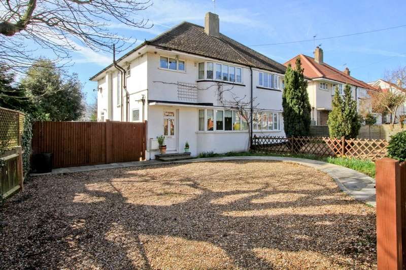 3 Bedrooms Semi Detached House for sale in Field End Road, Ruislip