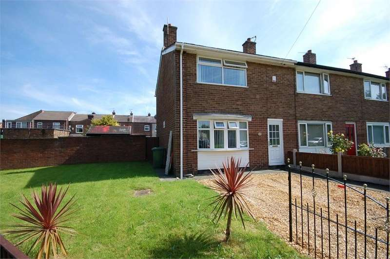 2 Bedrooms End Of Terrace House for sale in Carnegie Crescent, Sutton, St Helens, Merseyside