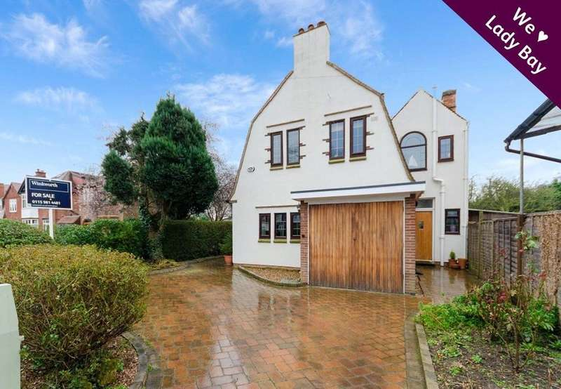 3 Bedrooms Detached House for sale in Rutland Road, West Bridgford, Nottingham, NG2