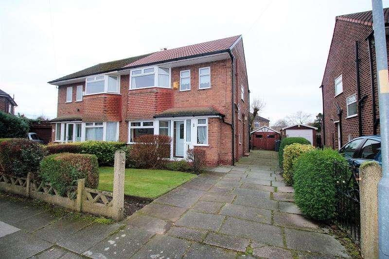 3 Bedrooms Semi Detached House for sale in Lanark Avenue, Northenden, Manchester. M22 4NJ