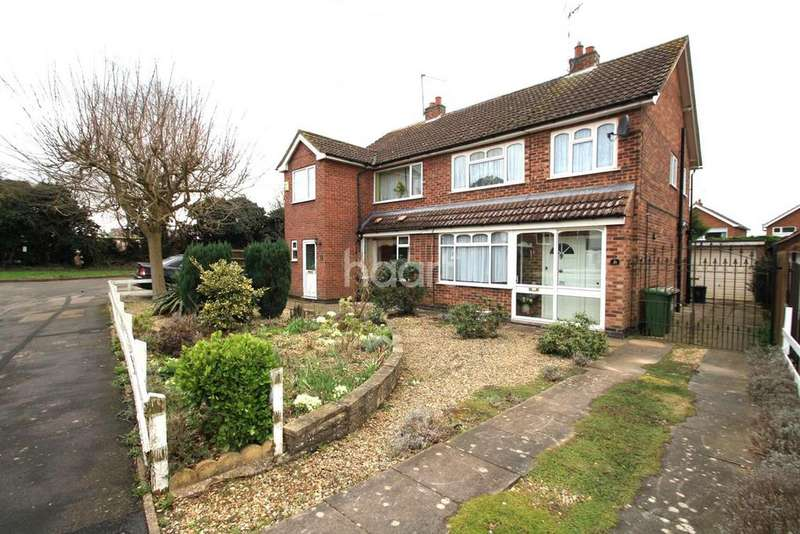 3 Bedrooms Semi Detached House for sale in Wareham Road, Blaby, Leicester
