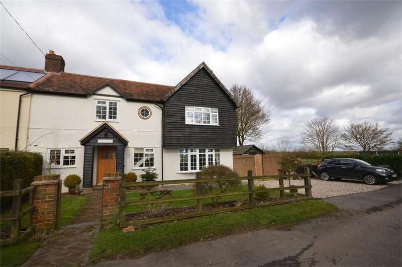 4 Bedrooms Semi Detached House for sale in Tawny Cottage, Walls Green, Willingale, Ongar