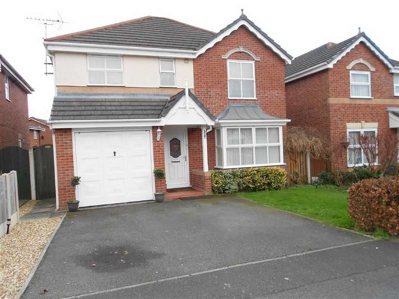 4 Bedrooms Property for sale in Beltony Drive, Coppenhall, Crewe, Cheshire