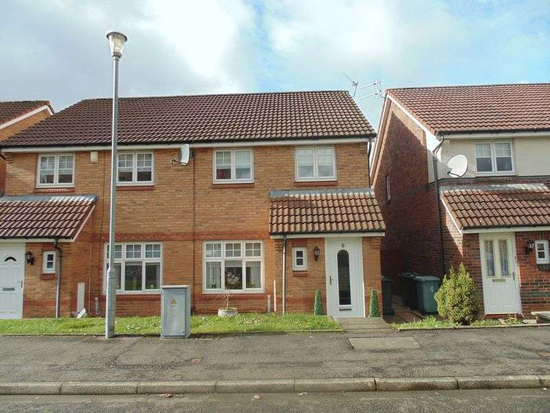 3 Bedrooms Semi Detached House for sale in Gresham View, Motherwell