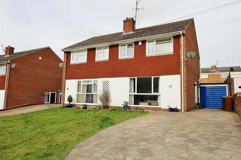 3 Bedrooms Semi Detached House for sale in Manor End, Uckfield, East Sussex