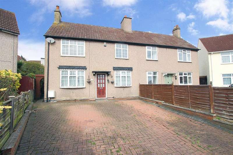 2 Bedrooms Semi Detached House for sale in Crayford Way, Crayford