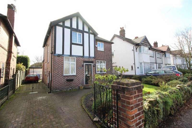 3 Bedrooms Detached House for sale in Stokesay Road, Sale