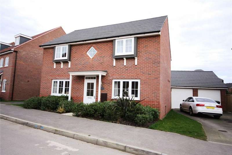 4 Bedrooms Detached House for sale in Vespasian Way, North Hykeham, Lincoln, Lincolnshire, LN6