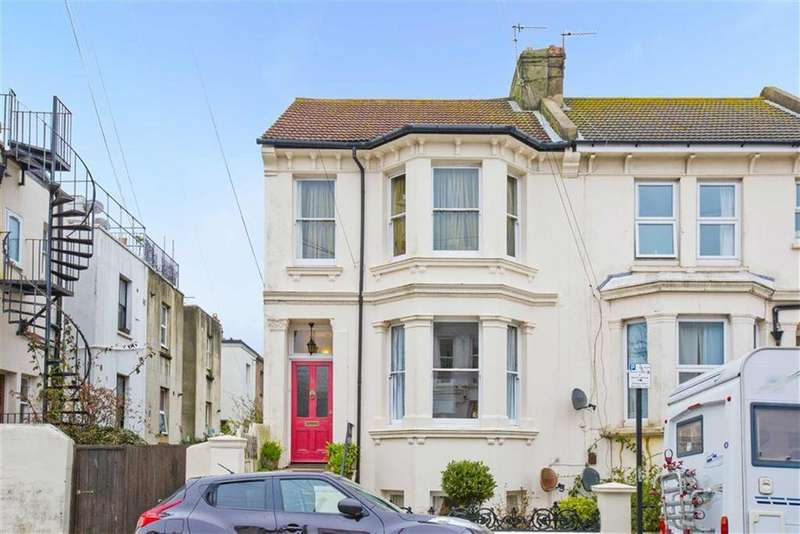 3 Bedrooms Maisonette Flat for sale in Goldstone Road, Hove, East Sussex