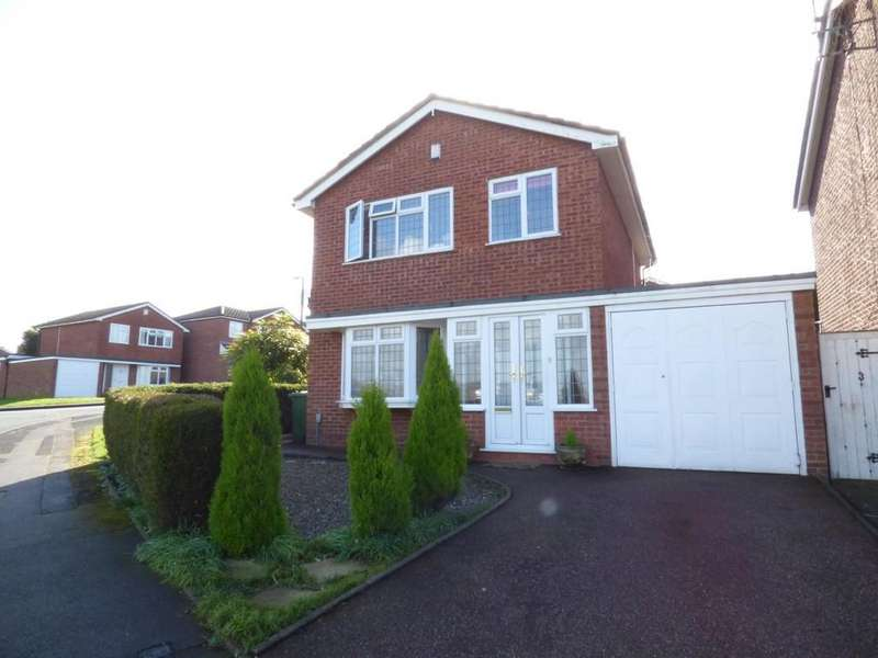3 Bedrooms Detached House for sale in Panton Close, Stafford