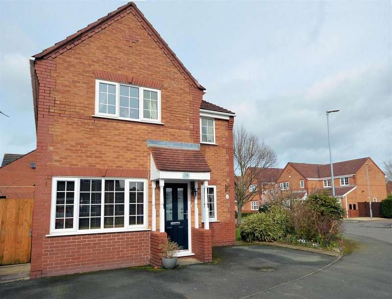 3 Bedrooms Detached House for sale in Masefield Way, Ettiley Heath, Sandbach