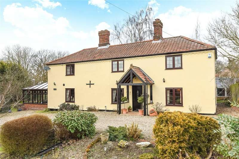 5 Bedrooms Detached House for sale in Mattishall Road, Honingham, Norwich, Norfolk, NR9