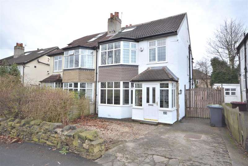 4 Bedrooms Semi Detached House for sale in Woodbourne Avenue, Moortown