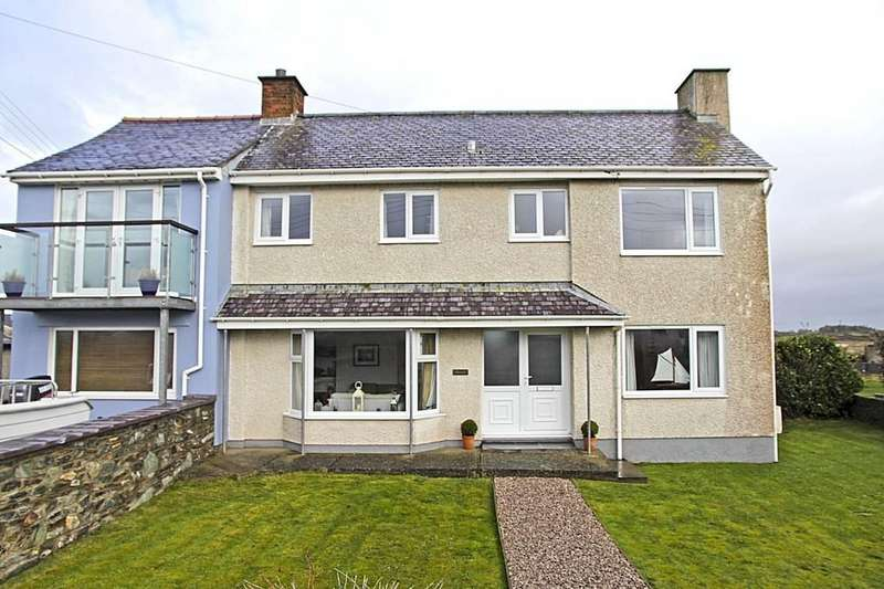 3 Bedrooms Semi Detached House for sale in Lon St Ffraid, Trearddur Bay, North Wales